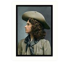 Annie Oakley, ca. 1900 Art Print