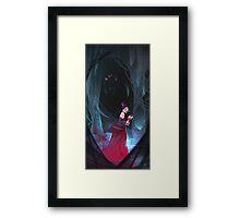 Widow of the Web Framed Print