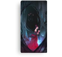 Widow of the Web Canvas Print
