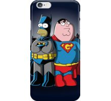 BatHomer V SuperGriffin iPhone Case/Skin