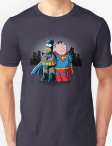 BatHomer V SuperGriffin Unisex T-Shirt