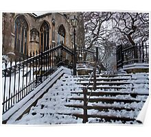 Steps to St Peter Mancroft Poster