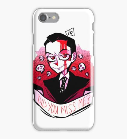 James Moriarty - Miss me? iPhone Case/Skin