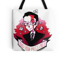 James Moriarty - Miss me? Tote Bag