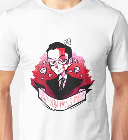 James Moriarty - Miss me? Unisex T-Shirt