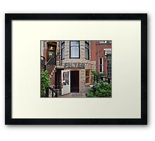 The Filter Framed Print