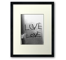 Love Above Love Framed Print