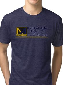 NORTHAM ROBOTICS NDR-114 POSITRONIC BRAIN Tri-blend T-Shirt