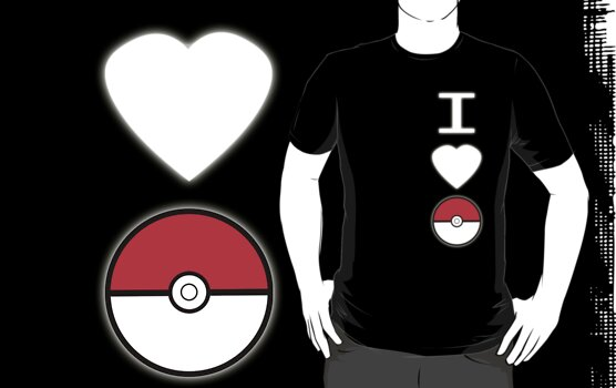 I Heart Pokemon (for dark backgrounds) by CarlyRC13