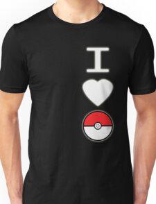 I Heart Pokemon (for dark backgrounds) Unisex T-Shirt