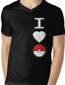 I Heart Pokemon (for dark backgrounds) Mens V-Neck T-Shirt