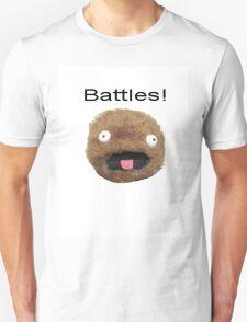 Battles! White T Shirt Design T-Shirt