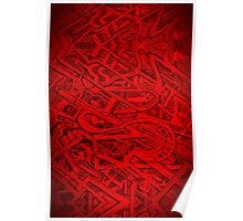 0001 Red Poster