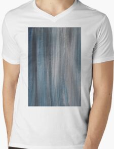 Blue shades Mens V-Neck T-Shirt