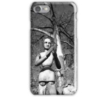 Gustaf the Wooden Man iPhone Case/Skin