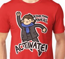 Deduction Powers Unisex T-Shirt