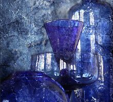 Blue Glass by Crista Cowan
