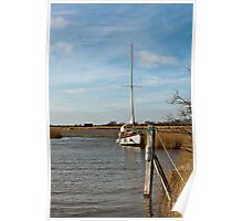 Boat on the Broads Poster