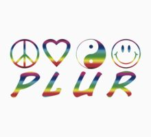 PLUR - Rainbow by Heather Saldana