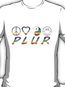 PLUR - Rainbow T-Shirt