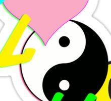 PLUR - Symbols Sticker