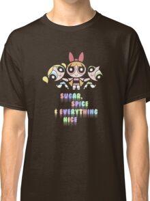 Powerpuff Girls Pastel Ingredients Classic T-Shirt