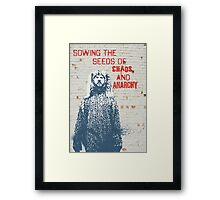 Sowing the Seeds Framed Print
