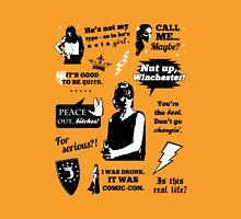 Charlie Bradbury Quotes Unisex T-Shirt