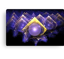 Crystal Ball in Infinity Canvas Print