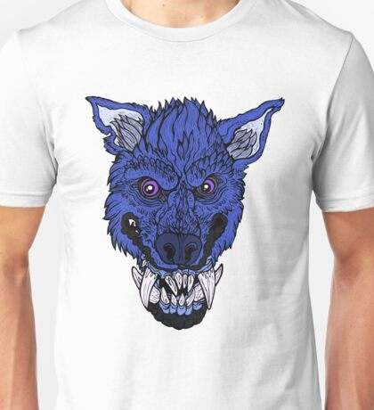 Werewolf- Dark Blue Unisex T-Shirt