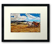 """Prairie Pastures"" Framed Print"