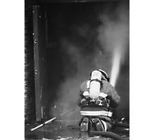 Fireman - British Columbia Canada Photographic Print