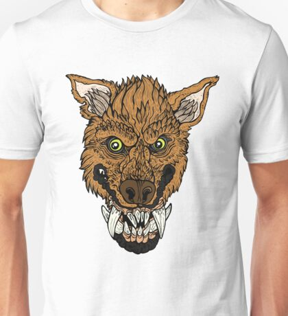 Werewolf- Orange Unisex T-Shirt