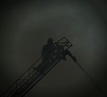 Through The Smoke - British Columbia Canada by Natasha Litia