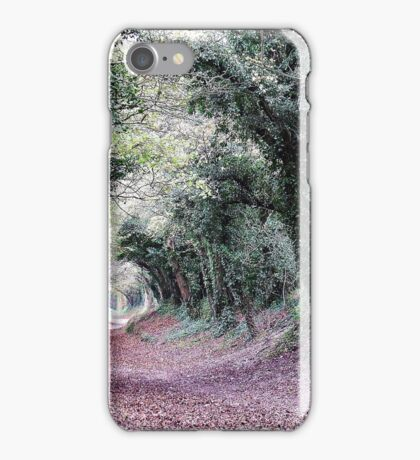 Went back to the Tunnel of Trees iPhone Case/Skin