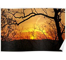 Amicalola Sunset Poster