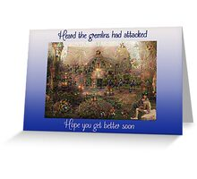 Gremlins Greeting Card