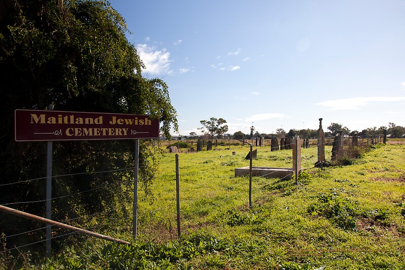 East Maitland Australia  city photos : Historic Maitland Jewish Cemetery, NSW Australia