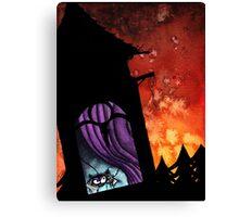Vampirespider's awakening Canvas Print