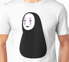 No-Face カオナシ Kaonashi Spirited Away Unisex T-Shirt