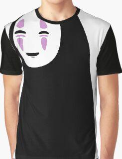No-Face カオナシ Kaonashi Spirited Away Graphic T-Shirt
