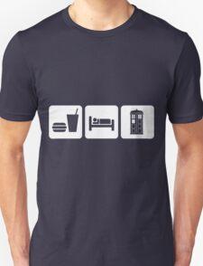 Eat Sleep and Doctor Who Unisex T-Shirt