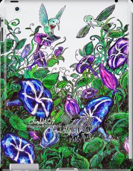 hummingbird jungle by LoreLeft27