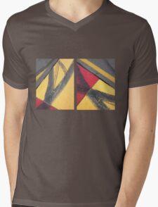 Tracks Mens V-Neck T-Shirt
