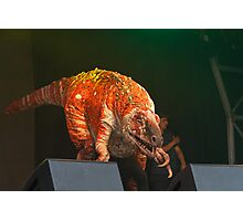 Erth's Dinosuar Zoo on stage at West End Live Photographic Print