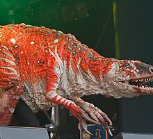 Erth's Dinosuar Zoo on stage at West End Live by Keith Larby