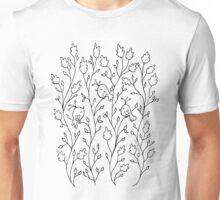 Three Little Birds (black line) Unisex T-Shirt
