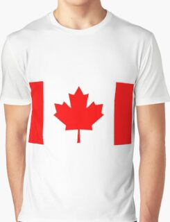 Flag of Canada Graphic T-Shirt
