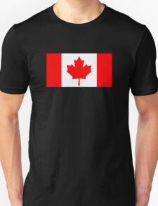 Flag of Canada Unisex T-Shirt