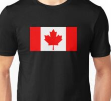 Flag of Canada Unisex T-Shirt